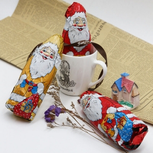 40g Dark chocolate almond milk Santa Claus for Children