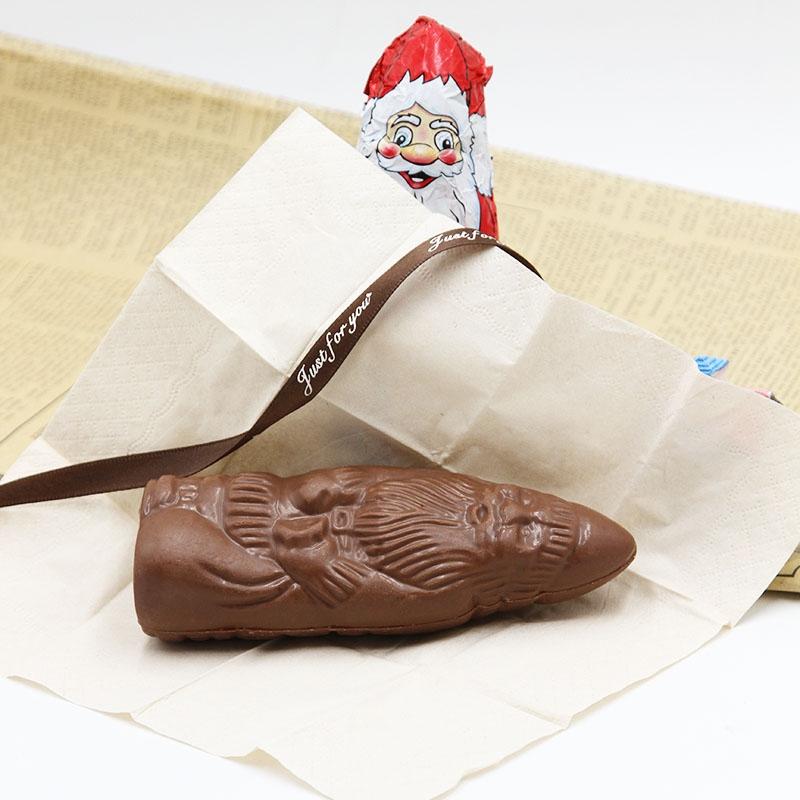 40g Dark chocolate almond milk Santa Claus for Children