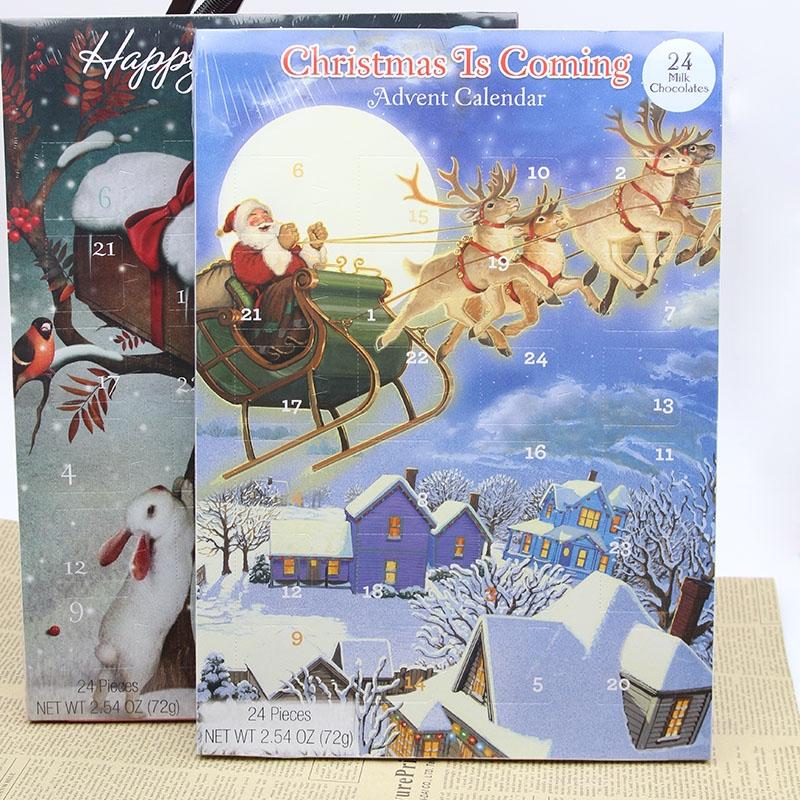 72g Christmas chocolate advent calendar