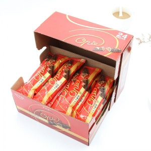 10g Wafer personalised chocolate bars filed with milk cream