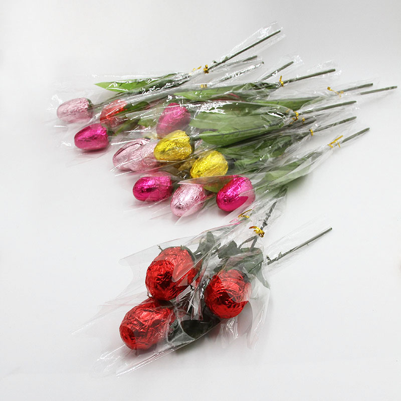 Chocolate covered roses