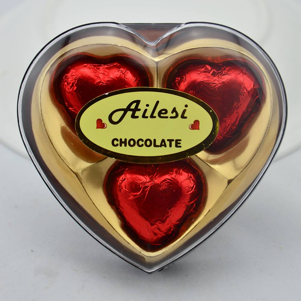 Vegan valentine's day chocolate