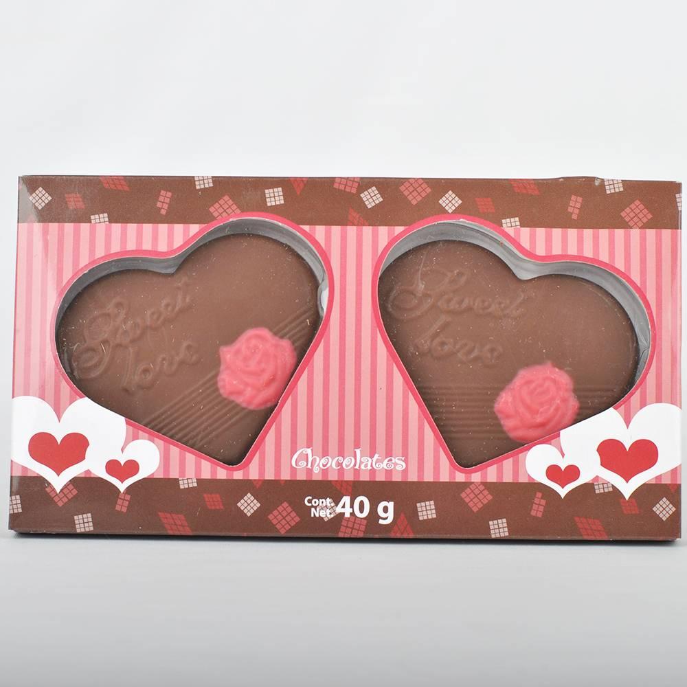Vegan valentine chocolate