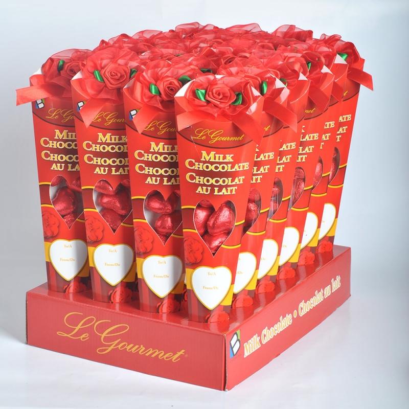 80g Best belgian chocolate Flower Bouquet to celebrate valentine day