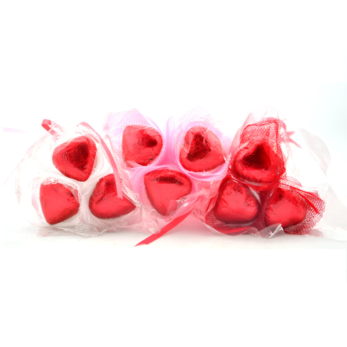 Valentine vegan chocolate