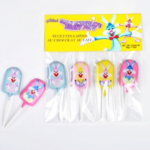 40g Easter Chocolate lollipop for children