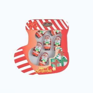 36g Christmas santa claus milk chocolate snack