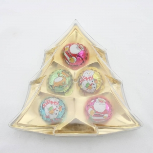 40g ball shape christmas tree chocolates