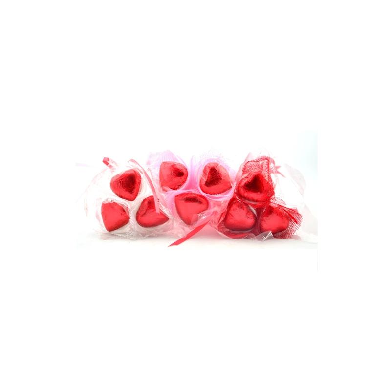 15g Heart shape Valentine vegan Chocolate