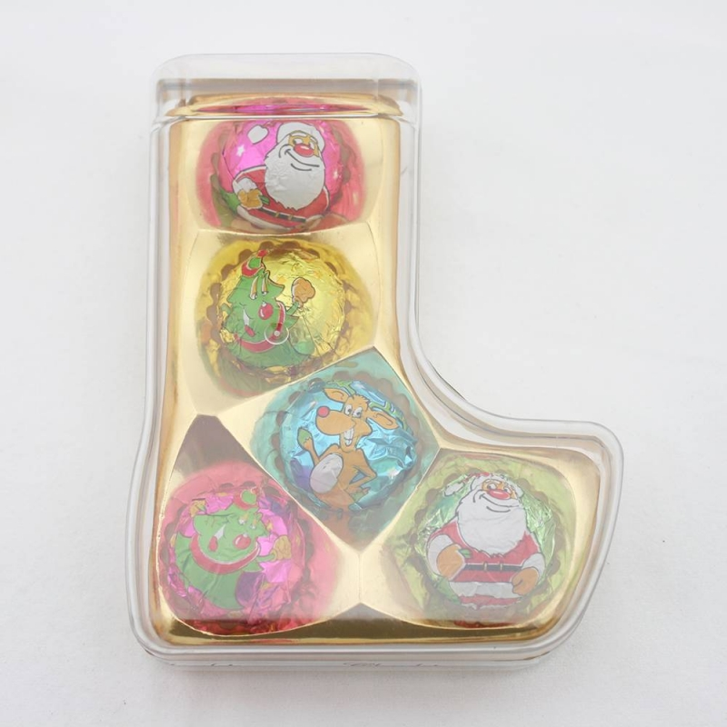 40g Christmas personalised chocolate in Luxury box