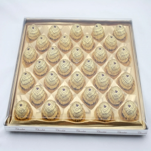 400g T32 Chunky chocolate with peanut or hazelnut