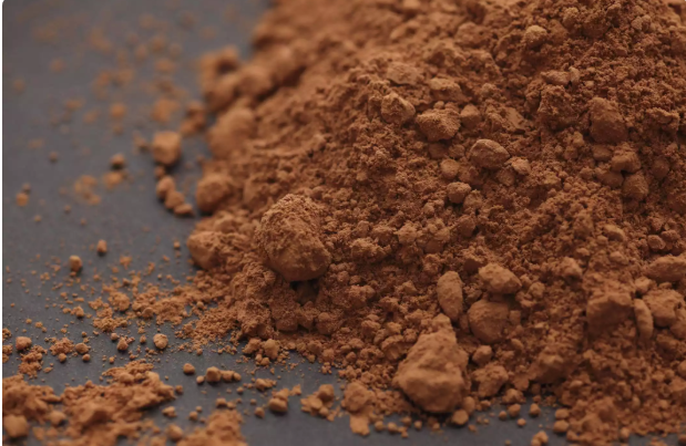 The difference between natural cocoa powder and Dutching