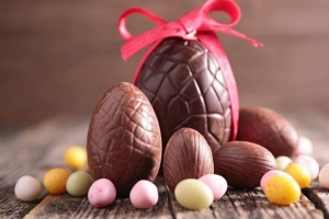 Vegan easter egg launch in zhemei foodstuff
