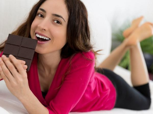 Burning dark chocolate calories, making every day happier